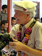 Jeff Rhoads capturing CAI assembly in Hyderabad, Pakistan
